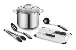 Cuisinart 76610-26PHS Chef's Classic 10 Qt. Stockpot with Essential Tools