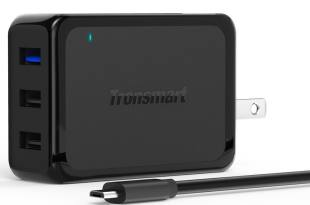 Tronsmart 42W 3-Port USB Wall Charger with Quick Charge 2.0 Technology