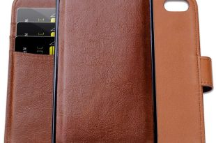 Detachable 2 in 1 Leather Wallet Case