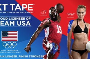 KT TAPE PRO Elastic Kinesiology Therapeutic Tape – 20 Pre-Cut 10-Inch Strips (Team USA Edition)