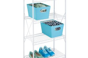 Honey-Can-Do SHF-05270 4-Tier Storage Shelf