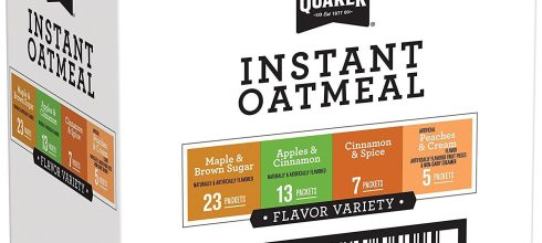 Quaker Instant Oatmeal Variety Pack, Breakfast Cereal, 48 Count