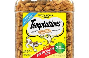 Save 25% or more on select Temptations Cat Treats