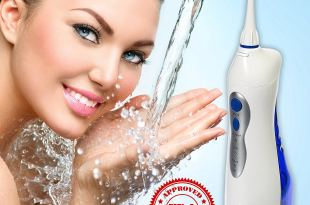 TOP RATED Water Flosser, FDA APPROVED, Cordless Rechargeable Oral Irrigator NO BATTERIES OR ELECTRICITY NEEDED
