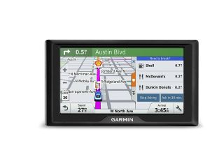 Garmin Drive 50 USA LM GPS Navigator System with Lifetime Maps, Spoken Turn-By-Turn Directions, Direct Access, Driver Alerts, and Foursquare Data