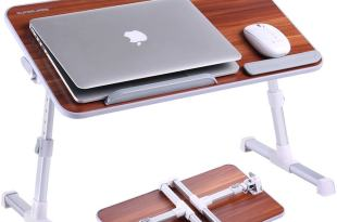 SUPERJARE Portable Laptop Table