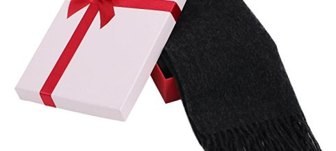 YoungLove Luxuriously Soft Cashmere Winter Scarf Gift Box Set