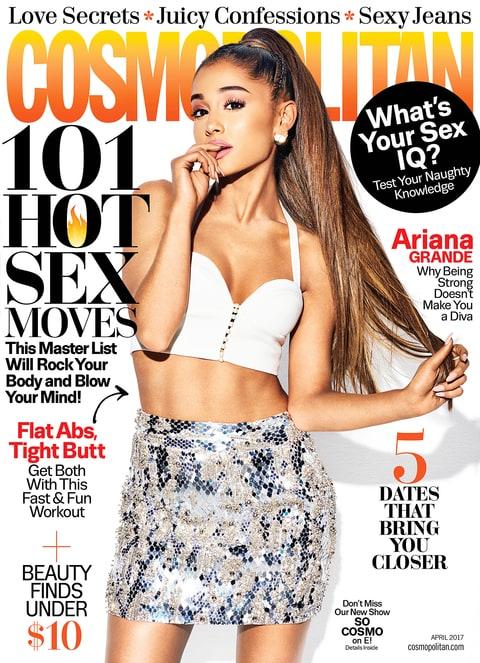 Ariana Grande Cosmopolitan cover
