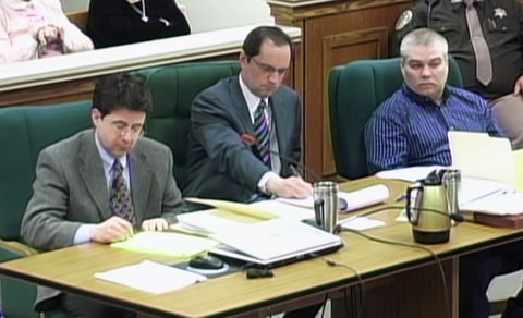 Dean Strang, Jerry Buting and Steven Avery