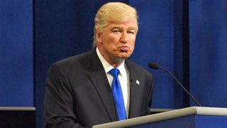 'Saturday Night Live': Alec Baldwin's Donald Trump Says Women Accusers Need to 'Shut the Hell Up'
