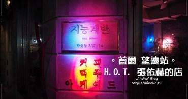 首爾追星景點∥ 望遠站。智能開發지능계발 - H.O.T.張佑赫所開的復古遊樂室咖啡店