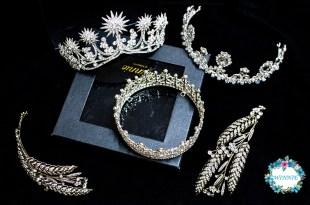 新娘飾品│華麗閃亮的皇冠特輯