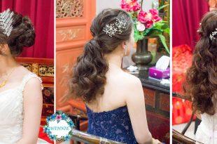 婚宴新娘秘書│氣質典雅An的婚宴造型