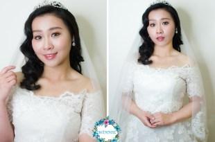 新娘秘書│宛如女神般的白紗造型