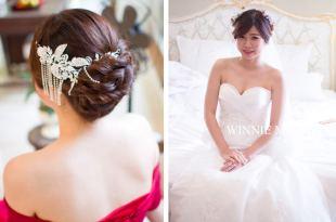 婚宴新娘秘書│訂結同天的柔美華麗新娘造型