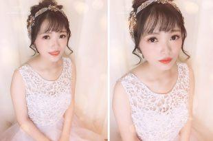 新娘婚宴造型│忍不住心動的新娘妝容