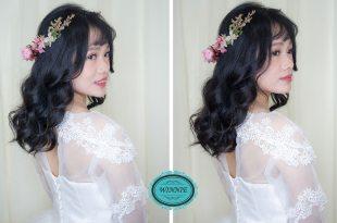 新娘造型│浪漫甜美的白紗公主造型