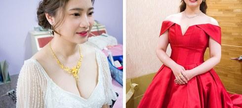 高雄新秘│喜歡浪漫氣質造型公主風+名媛造型+韓系造型