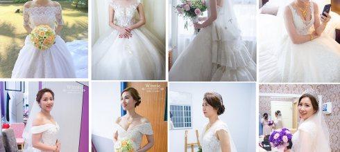 新娘造型懶人包│不同白紗風格的熱門造型