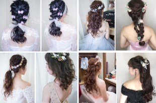 新娘造型懶人包│氣質浪漫的首選放髮造型