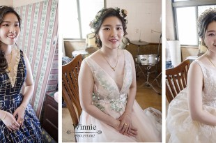 台南新娘秘書│氣質甜美可人的新娘造型