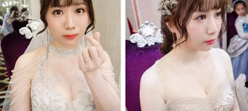 台南新娘秘書│高貴華麗不俗氣的新娘造型