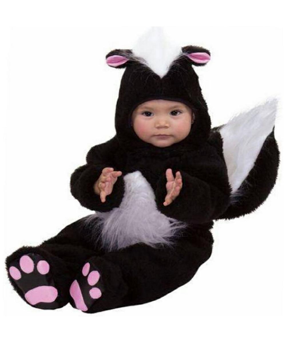 Cheerful Skunk Costume Costume Halloween Costume At Wondercostumes Skunk Costume Costume Halloween Costume At Wonder Baby Skunk Costume Amazon Baby Skunk Costume Diy baby Baby Skunk Costume
