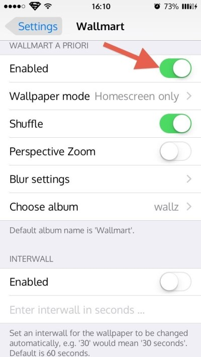How to Cycle Through All of Your iPhone's Wallpapers Automatically « iOS Gadget Hacks