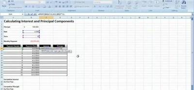 Loan Payment Manual Formula Calculator - asics