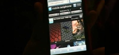 How to Get the best backgrounds for iPod Touch or iPhone without jailbreaking « iPod & MP3 ...