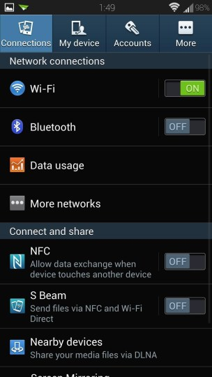 - enable unknown sources android install apps outside play store -