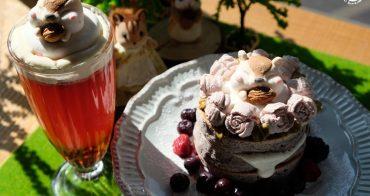 樹林美食︳Niko Niko Cafe -三峽網美咖啡店,早午餐下午茶都要來一隻花栗鼠棉花糖的檯
