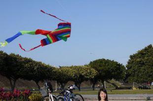 台北古亭|馬場町紀念公園,周末騎單車&放風箏的好去處!
