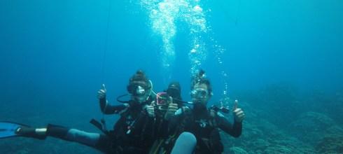 復活島行程|Mike Rapu Diving Center,人生第一次潛水就獻給復活島啦!