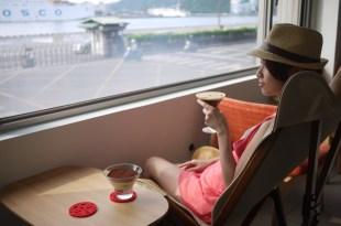 基隆|Loka Café|港邊瘋景,午茶時光咖啡、鹹派與堤拉米蘇!
