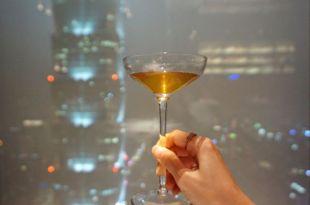 高空餐廳推薦|微風南山Saffron 46,全台最高印度料理,那一夜在46樓星空塔上望著101談心