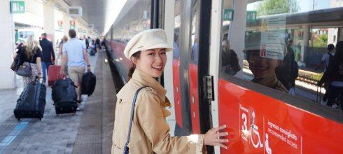 義大利交通 威尼斯海上火車,義大利國鐵火車旅行from米蘭,火車購票、乘車教學