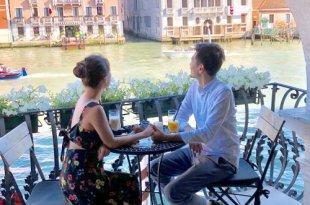 威尼斯咖啡廳|巴巴里戈宮飯店下午茶,只此一位,情人的專屬威尼斯時刻