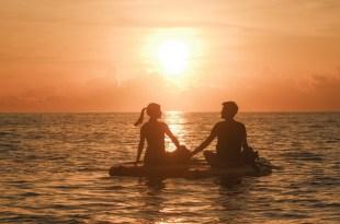 我在太平洋,與日光說早安|台東都蘭SUP Daily 立槳旅行