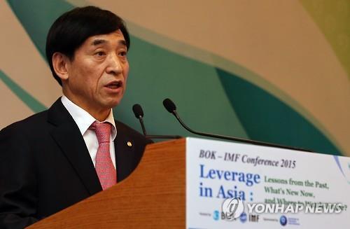 Bank of Korea Gov. Lee Ju-yeol (Yonhap file photo)