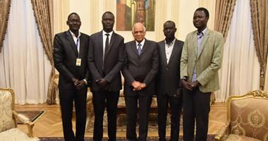 طلاب جنوب السودان