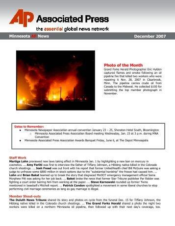 Minnesota AP News November 2007 Photo of ... - Associated Press