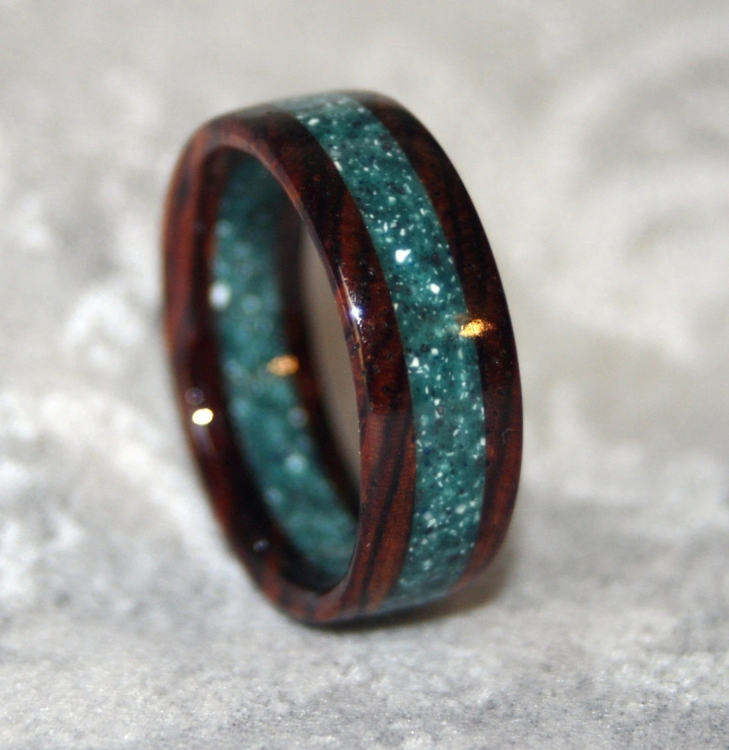 custom wooden or corian wedding band or custom wedding rings Request a custom order and have something made just for you
