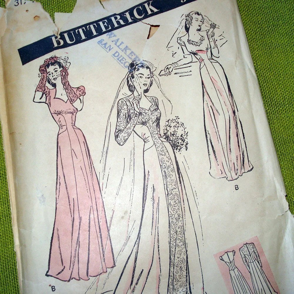 s vintage wedding dress patterns vintage wedding dress patterns S Vintage Wedding Dress Patterns