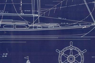 Ralph Lauren Nautical Combination Recycled Designer Wallpaper