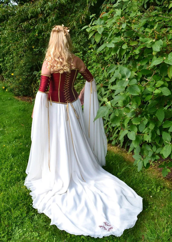 medieval corset wedding dresses medieval wedding dress Medieval Corset Wedding Dresses 75