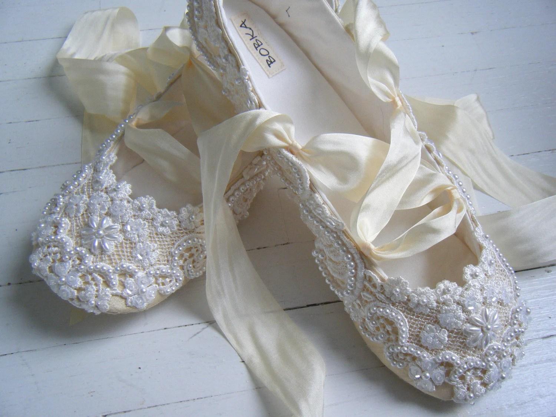 ballet wedding shoes images wedding slippers Ballet wedding shoes dayasrioe top