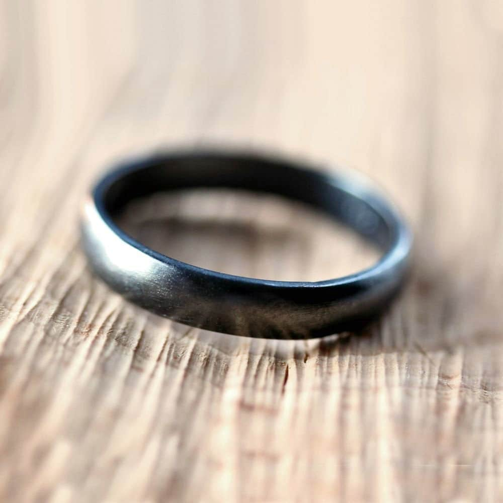 black silver wedding band brushed mens sterling silver wedding sets zoom