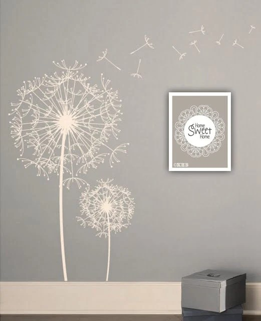 """FREE Shipping, Vintage Retro Home Sweet Home Doily Lace Shabby Chic Modern Designer Wall art Print 8X10"""" Color Grey, Gorgeous Gift"""