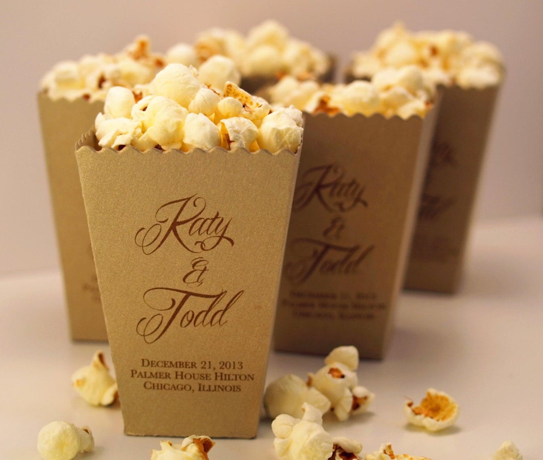 wedding favor box mini popcorn box wedding favor boxes zoom